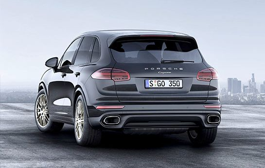 2019 Porsche Cayenne Coupe Exterior Styling