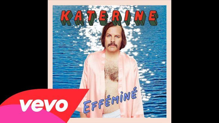 Efféminé, nouvel extrait du prochain album de Katerine.  Magnum, sortie le 14 octobre 2013