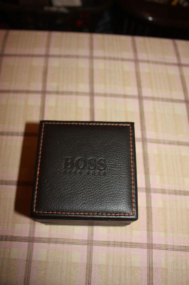Uhrenschatulle Uhrenbox von  Boss Leder