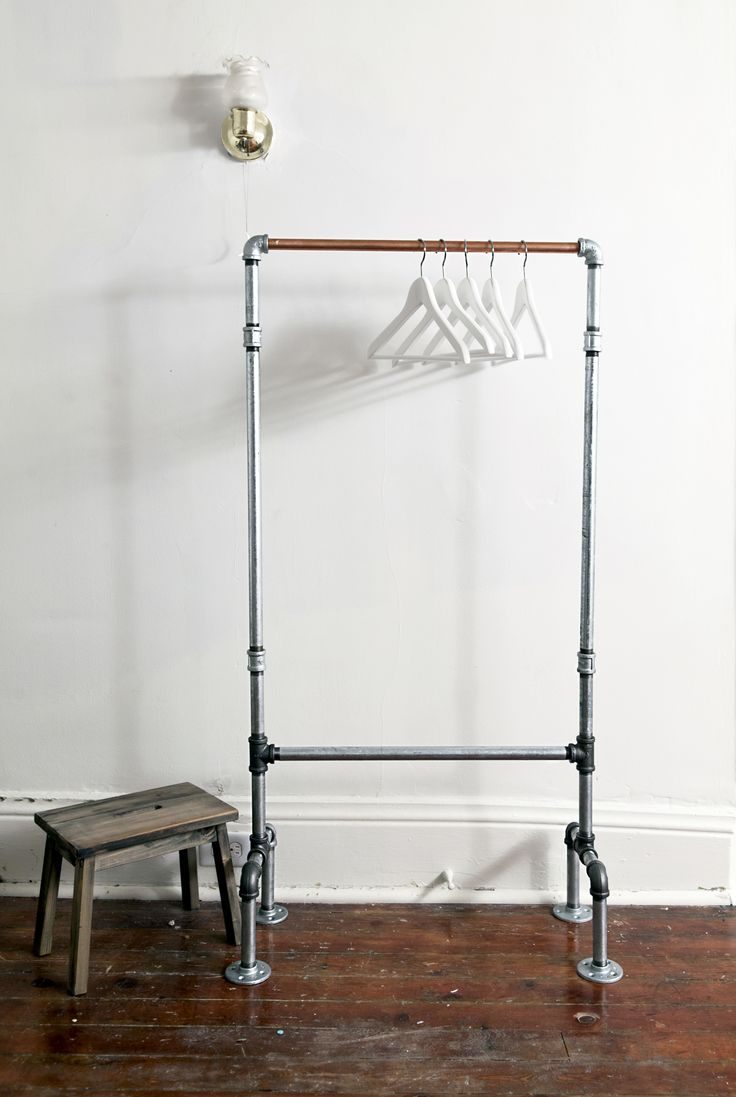 1000 Ideas About Pipe Clothes Rack On Pinterest Pipe