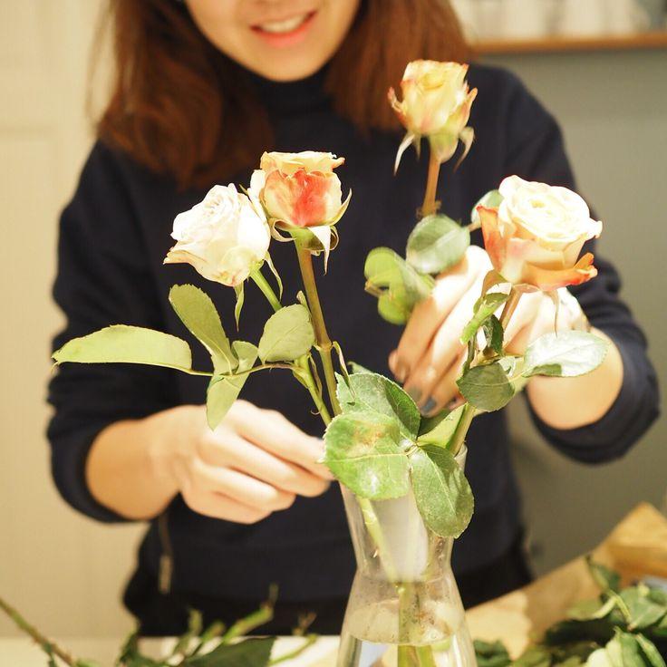role of flowers, to give you smile  #sayidotokøbenhavn #Copenhagen #Denmark