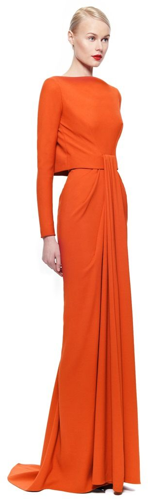 The Gown Boutique: Zac Posen FW 2014/15 I think I've pinned this already but it's so pretty so twice is nice!