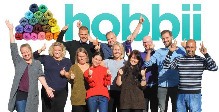 Hobbii.se är butiken för dig som har kreativa händer och älskar att sticka eller virka. Vi gör vårt bästa för att ta in nya och spännande produkter till priser som är överkomliga för alla. ☺