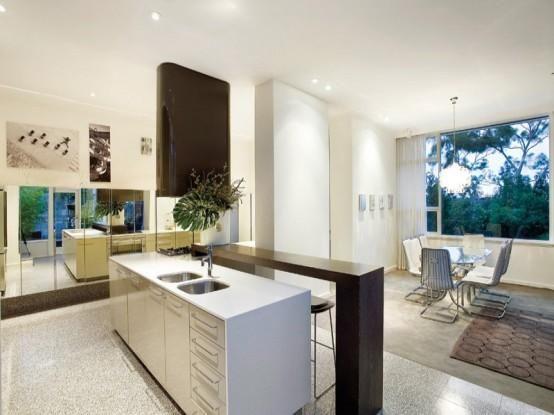 mid century house mit zeitgenssischem design und atemberaubenden innenhof 2 - Mitte Des Jahrhunderts Modernes Haus