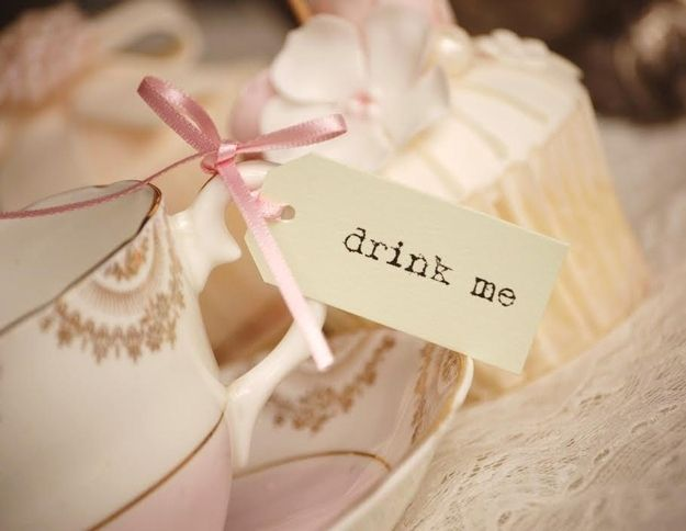 Serve tea with cute tags  | 33 Subtle Ways To Add Your Love Of Disney To Your Wedding