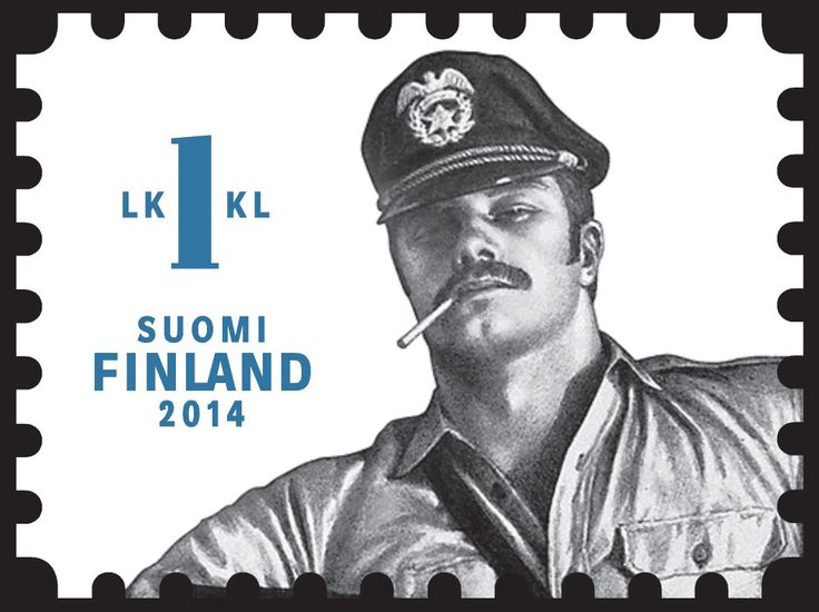 Lick This - Tom of Finland Stamp