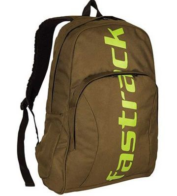 Fastrack - Olive Green Laptop BackPack