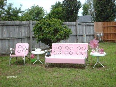 Marvelous Outdoor Furniture | Pink Outdoor Furniture