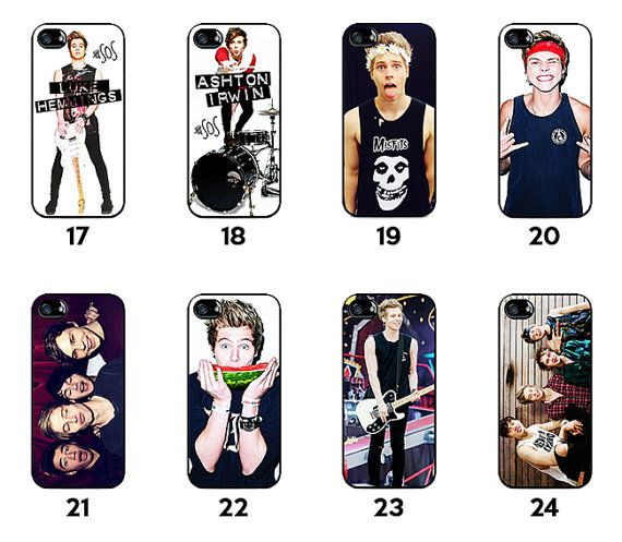 5SOS 5 seconds of Summer iphone 4 4s case iphone by SouvenirOnline