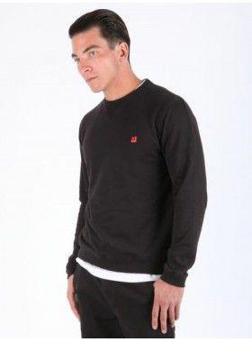 QuarterLife Clothing Crew Neck Sweater. Buy @ http://thehubmarketplace.com/quarterlife-clothing-crew-neck-sweater-black-grey