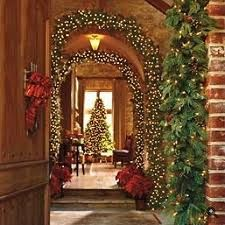 Christmas inspiration.  Lovely arches.