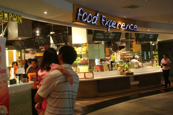 Food Court at Bumrungrad Hospital, Bangkok Thailand