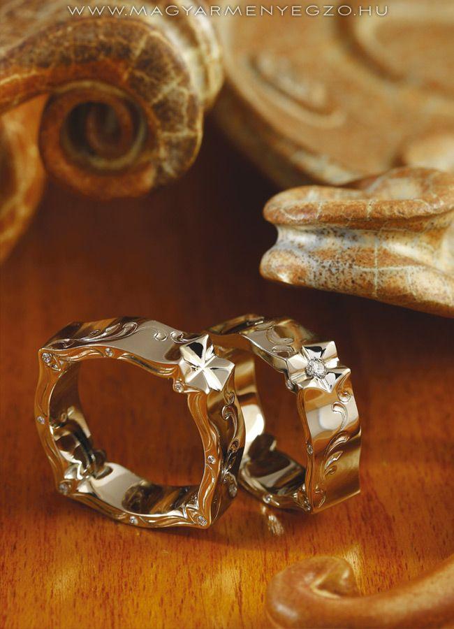 Árgyélus karikagyűrű - wedding ring - www.magyarmenyegzo.hu