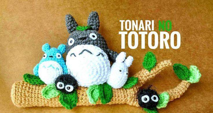 Tonari no totoro amigurumi