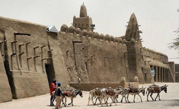Article on UNESCO plan to safeguard Mali's cultural heritage