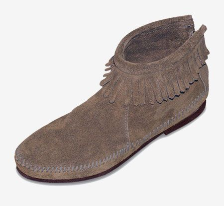 Back Zip Boot