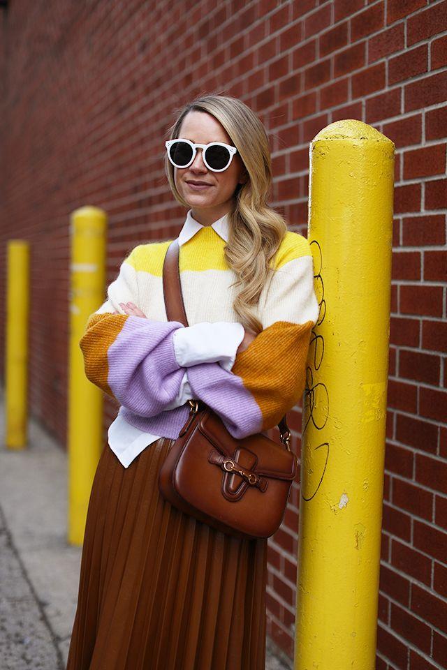 Atlantic Pacific Blog Blair Eadie Stripes Outfit