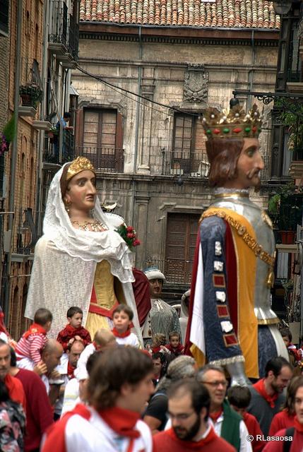 Gigantes Europeos. Pamplona  Flickr: Intercambio de fotos