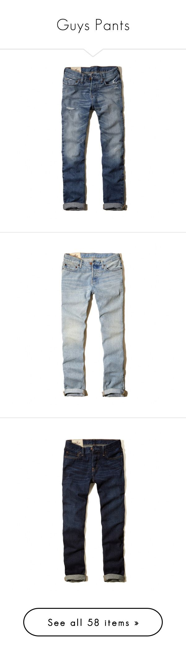 """""""Guys Pants"""" by refplayitback on Polyvore featuring men's fashion, men's clothing, men's jeans, mens cuffed jeans, mens dark jeans, mens skinny jeans, mens faded jeans, mens skinny fit jeans, men's pants and men's dress pants"""