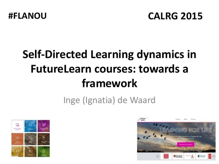 This brief presentation was given during the FutureLearn Academic Network event at the CALRG confereence in The Open University, Milton Keynes, United Kingdom …