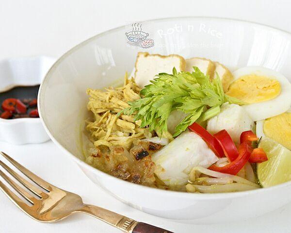 Soto Ayam and CSN Giveaway Winner - Roti n Rice
