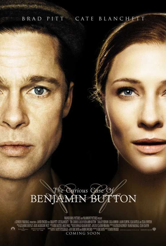 """CAST: Brad Pitt, Tilda Swinton, Cate Blanchett, Elle Fanning, Elias Koteas; DIRECTED BY: David Fincher; PRODUCER: Ce·n Chaffin, Kathleen Kennedy, Frank Marshall; Features: - 27"""" x 40"""" - Packaged with"""