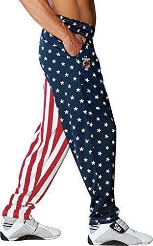 Otomix Men's American Flag USA Baggy Workout Pants 3XL