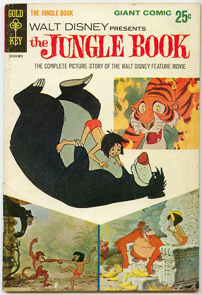Walt Disney presents The Jungle Book (1967) — 1968 comic book