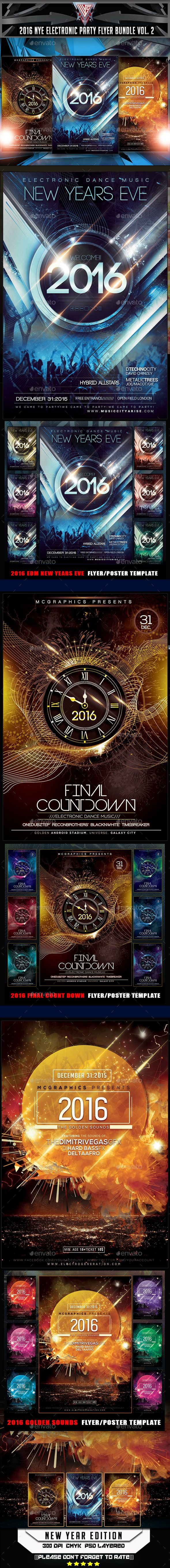 17 best nye flyers posters and invitation templates images on