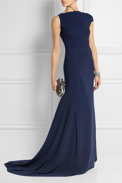 Vionnet| Asymmetric stretch-crepe gown | NET-A-PORTER.COM
