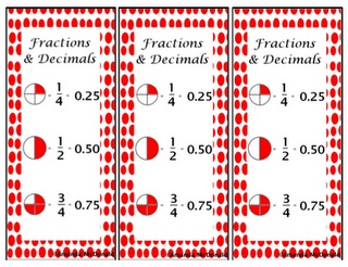 Image result for fractions related to decimals