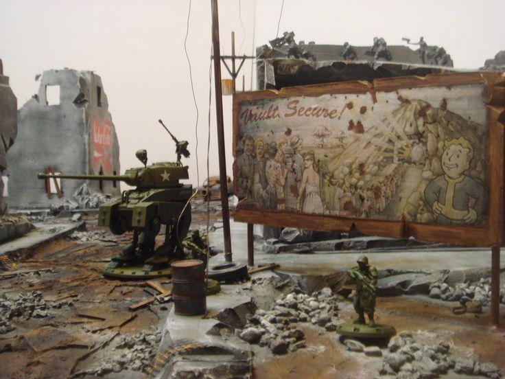 Fallout terrain 4X4 gaming terrain by draka102.deviantart.com on @DeviantArt
