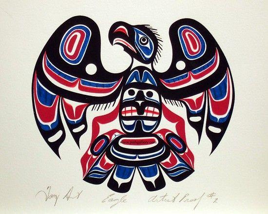 Hunt, Tony 'Eagle AP 2' - Northwest Coast Native Art