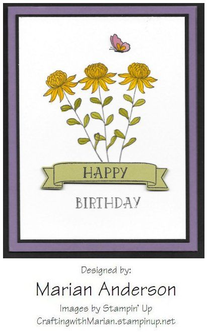 Flowering Fields Stampin' Up Sale-A-Bration set #141303 ...