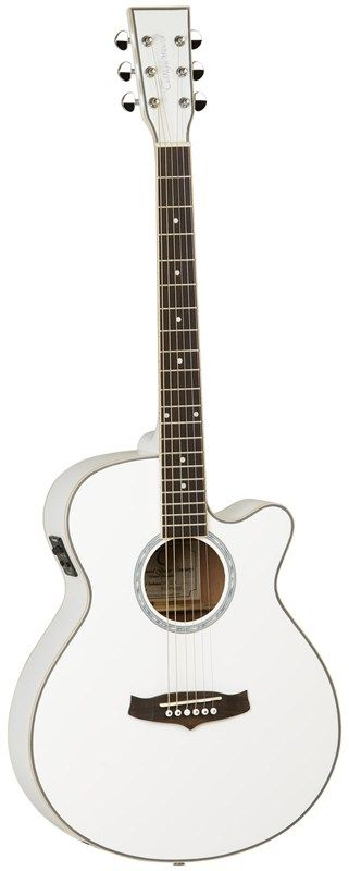Tanglewood   TSF CE WH Evolution Electro-Acoustic Guitar