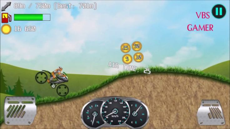Alien Planet Hill Racing Babies Android Gameplay Night Bike