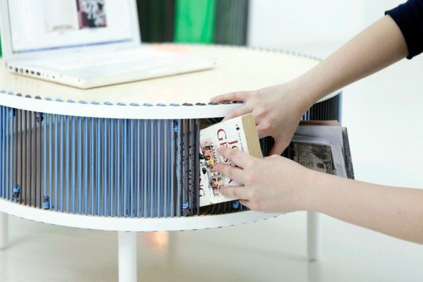 Creative bookshelves modern modular fascinating Leicht CD