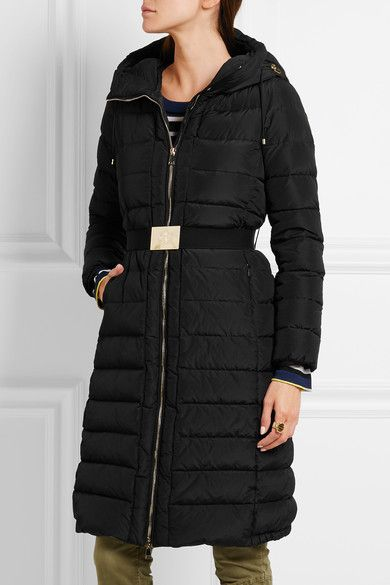 Moncler - Imin Belted Quilted Shell Down Coat - Black - 2