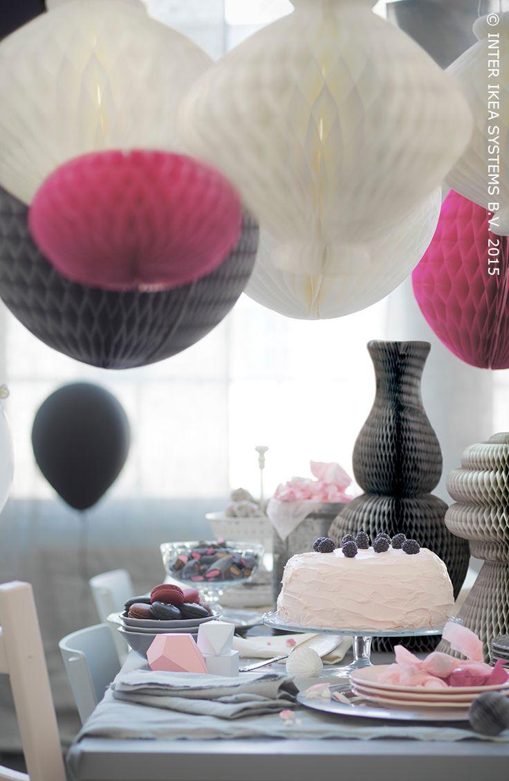 Meer dan 1000 ideeën over papieren feest decoraties op pinterest ...