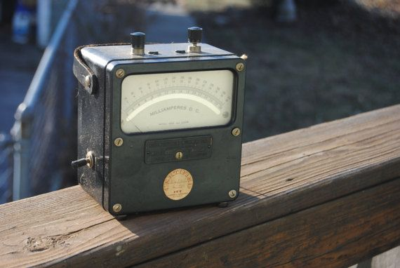 Vintage Meter/From the Lab of Philo Farnsworth by camillesBOOTH66