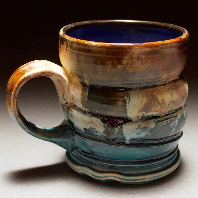 Glaze Firing Today More In The Kiln Like This One Mugshotmonday Mvbceramics Art Ceramics Mug Clay Pottery Oceansunset Inspi Mugs Ceramic Cups Pottery