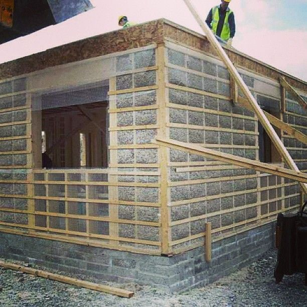 """Using Hempcrete construction, Team Hemp House, is going to build a hemp demonstration house in Colorado. """"The intent is to show that we can use hemp to build the foundation and the walls and the tiles, but also the furnishings in the house, including the food in the fridge. #hemp #sustainable #food #fuel #clothing #shelter #HempItsIndustry"""