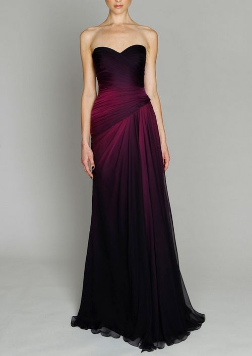 brides maid dress but different color. It would be great for a December wedding.