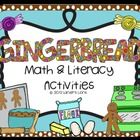 Gingerbread: Math & Literacy Activities Pack Math: -Counting by 5's cut &