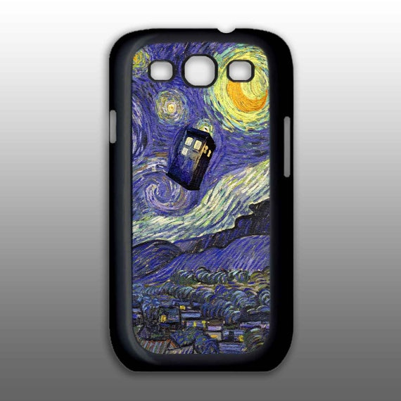 Samsung Galaxy S3  tardis dr who painting art  Phone by BeeCase, $19.00