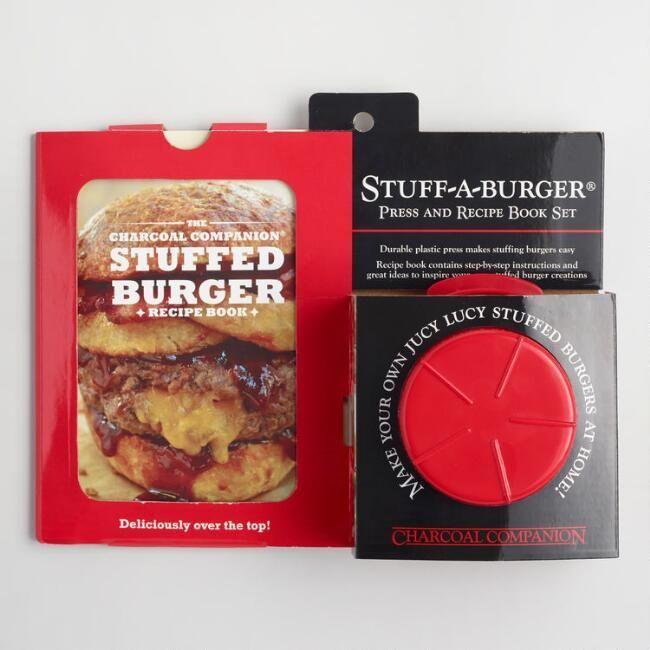Stuff a Burger Press and Recipe Book Kit