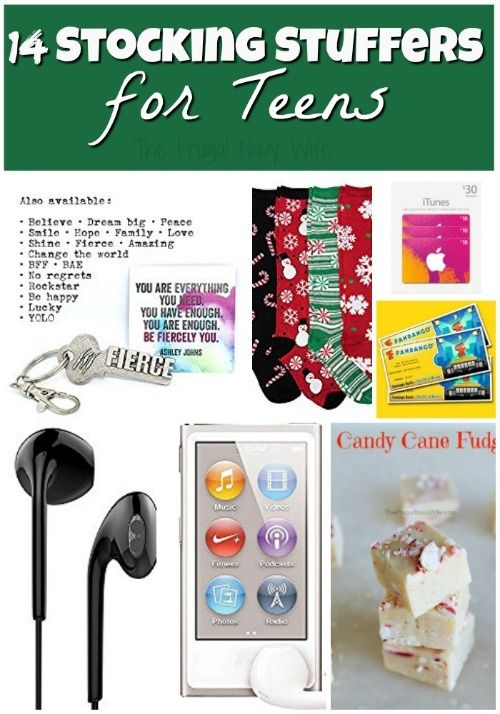 Stocking Stuffer Ideas 14 Stocking Stuffers For Teens