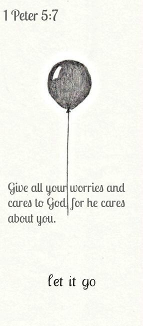 Love the balloon illustration to go with this verse.