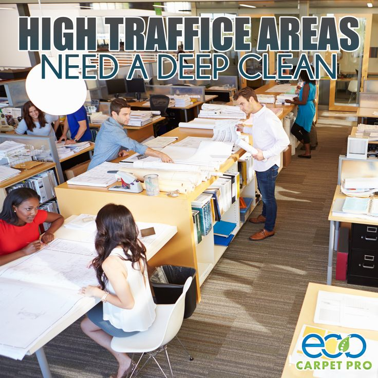 We make sure your carpet is clean and ready for your team to do work. http://www.ecocarpetpro.com/ #Carpet #CommercialOffice #Virginia #CarpetCleaners