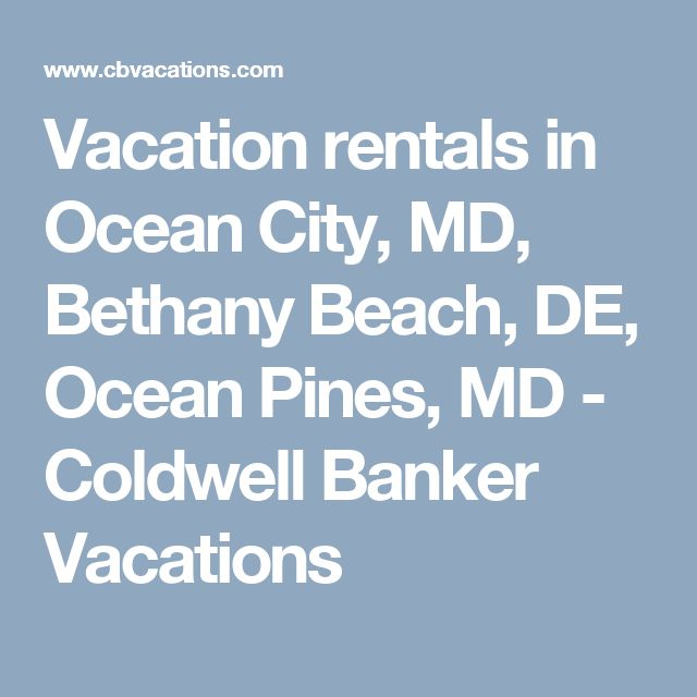 Beach Houses For Rent In Ocean City: 1000+ Ideas About Ocean City On Pinterest